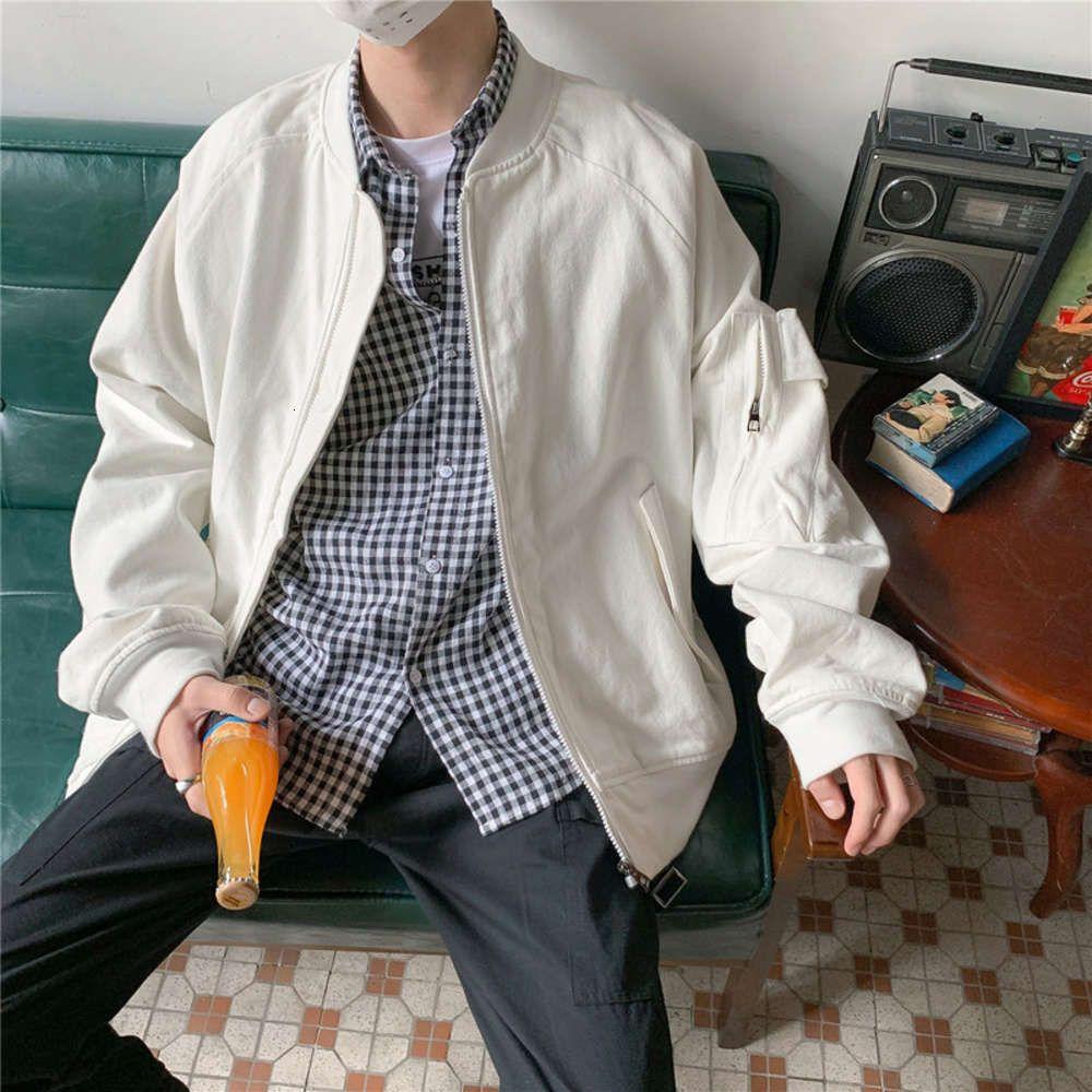 Весна осенний сезон пилотная куртка мужская корейская версия свободно и красивый бейсбольный костюм мода бренд инструментарий