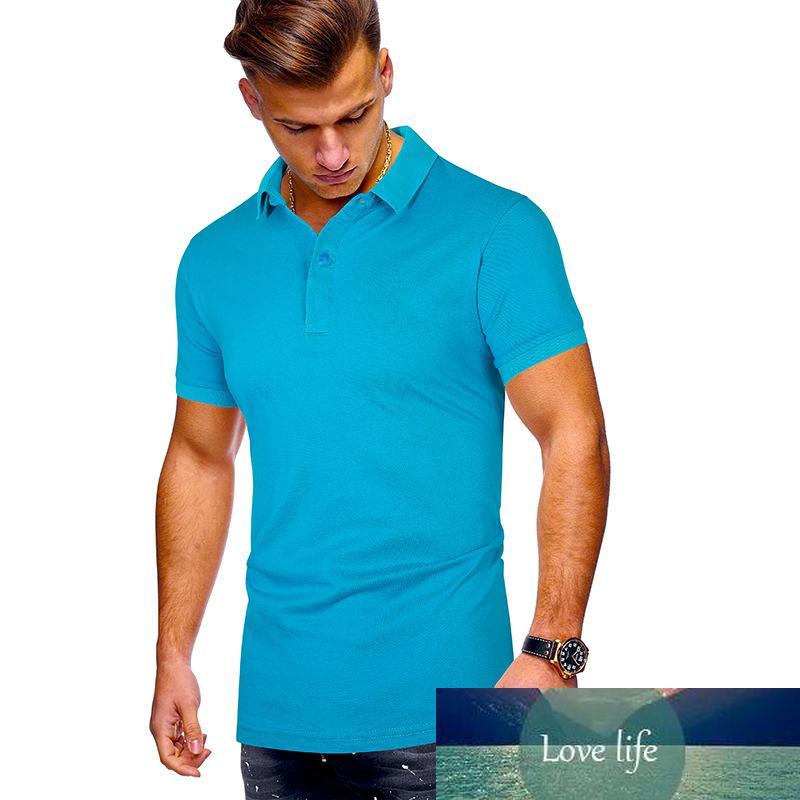 Mens Shirt Brands Clothing New Short Sleeve Summer Leisure Shirt Man Poloshirt Men Plus Size Shirts Large size 3XL