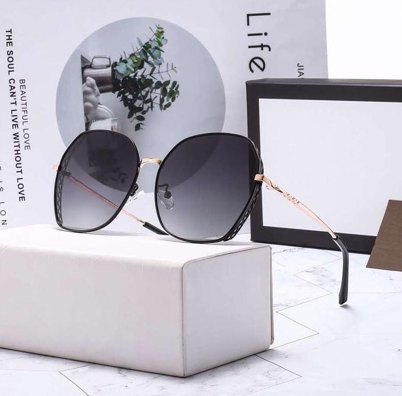 20ss Tasarımcı Güneş Gözlüğü Yaz Güneş Gözlüğü Adam Bayan Plaj Gözlük UV400 Mektuplar 6008 5 Renkler Son derece Kalite Kutusu Ile Kuyrtkyyyr