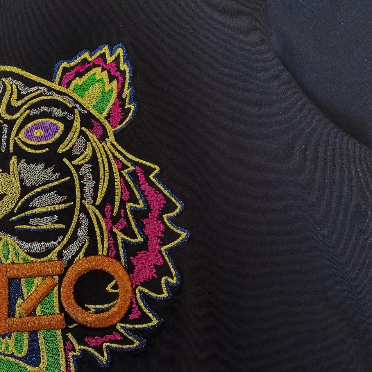 2121 летняя новая головка тигра прецизионная вышивка Lovers'tshirt898