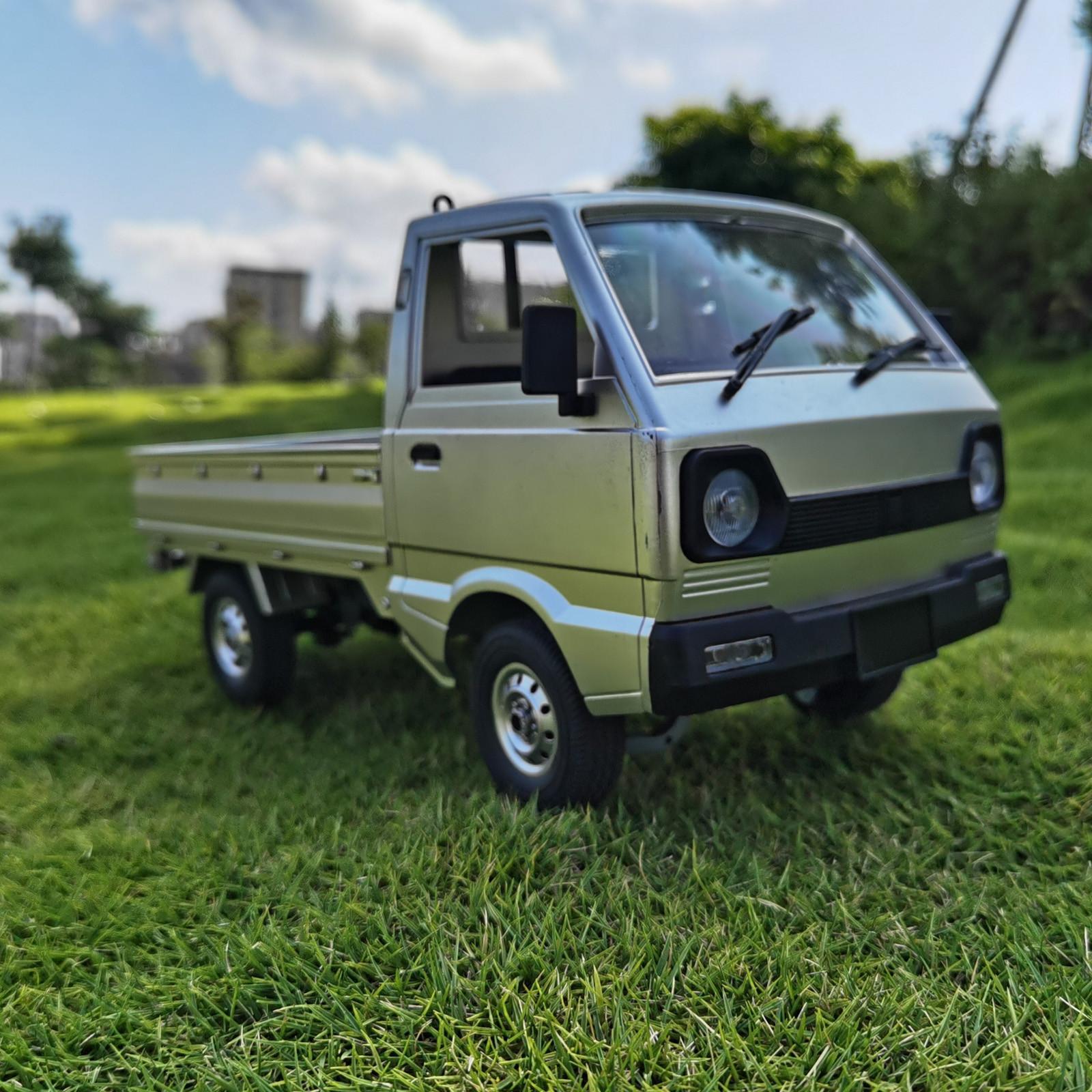 WPL D12 1/10 RC Simulación de automóvil Camión de deriva 260 Motor juguete para niños Niño Modelo Holiday Classic Gift 20126