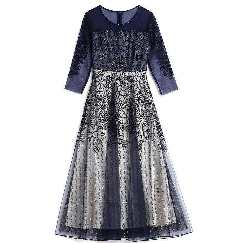 2021 novo vestido formal de verão s-xxxl