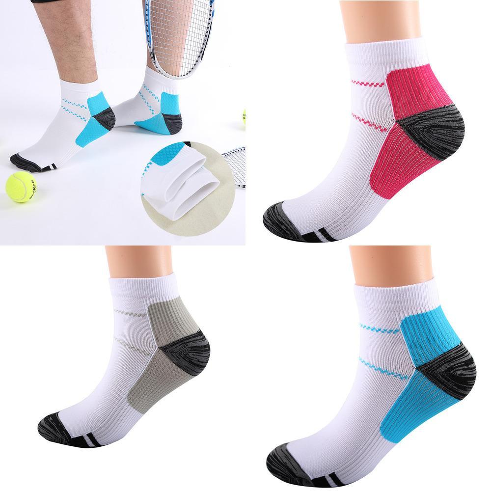 Спортивные носки Дышащие компрессионные лодыжки Носки против усталости stantar Fatafiit Hate Spurs Pain Short Sock для мужчин Женщины H21803