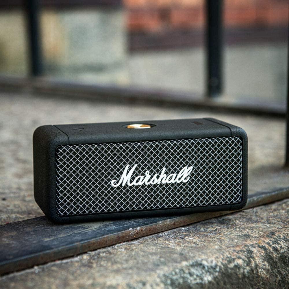 Marshall Emberton Portátil Bluetooth altavoz, negro