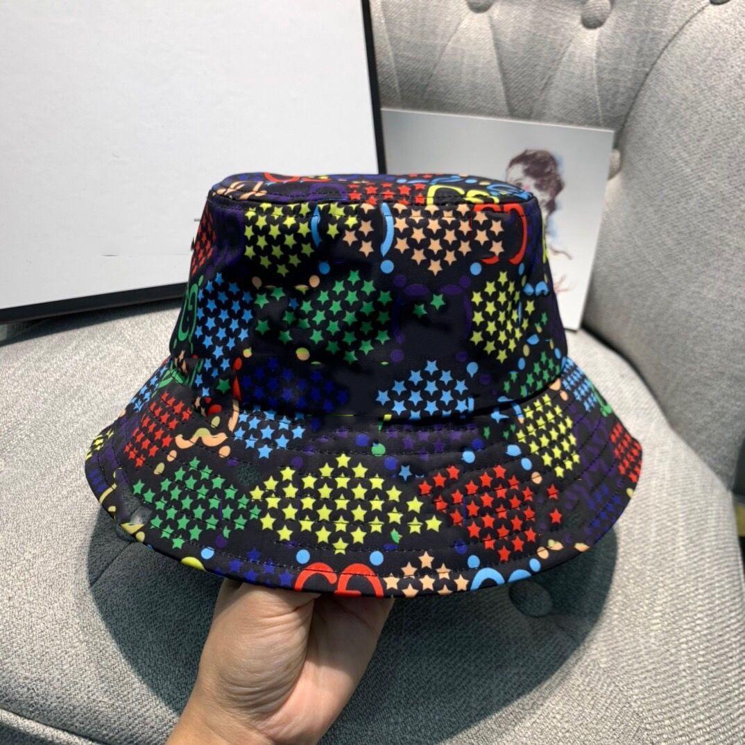 Commercio all'ingrosso Cappuccio di lusso Cappuccio da sole di Brand Brand Plaid Jacquard Fisherman Hat Moda uomo e donna Cappelli