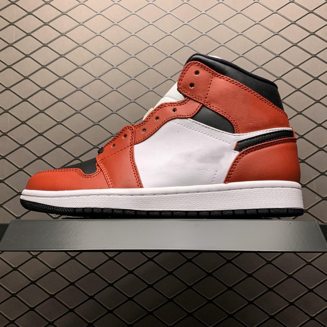 Классическое высокое качество j 1 ретро высокий бесстрашный чикаго баскетбольные туфли мужчины и женщины черные пальцы королевские обсидианские кроссовки с коробкой