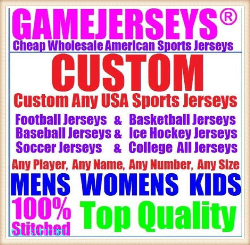 Пользовательские баскетбольные бейсбольные хоккеи льда хоккей мужчины женщин дети американский футбол трикотажные изделия спортивные пара неприкасаемый 2021 Джерси черновик 4XL 5XL 6xL