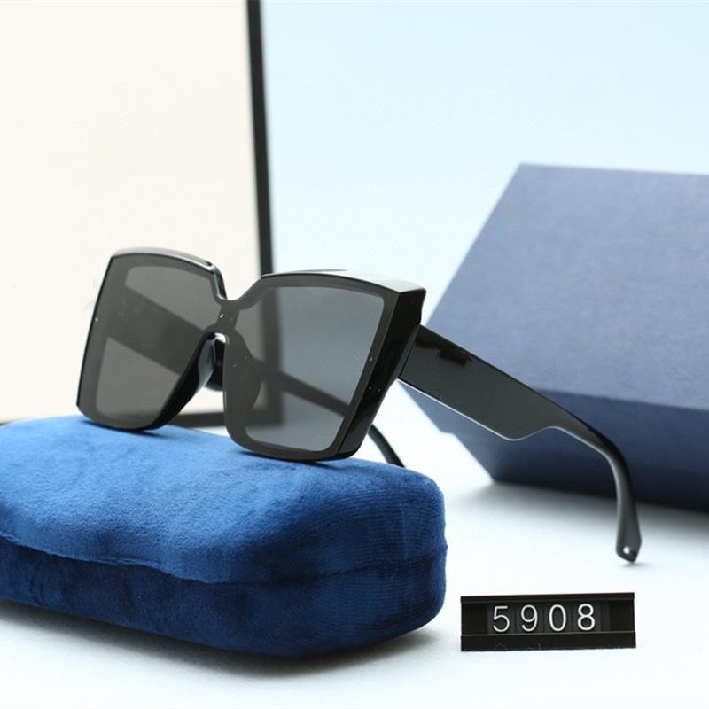 خمسة ألوان القط العين النظارات للنساء العصرية عالية الجودة hd الاستقطاب العدسات الأزياء عارضة القيادة نظارات مع حزمة 5908