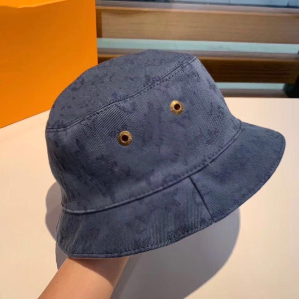 Nuovo cappello di lusso cappello di cotone cappello da sole cappello jacquard cappello da pescatore moda uomo e donna cappelli di marca
