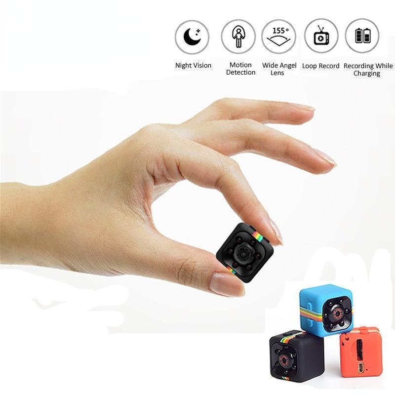 Mini Cameras Webcam SQ11 HD Camera IP Small Cam 1080P Sensor Night Vision Camcorder Micro Video DVR DV Motion Recorder