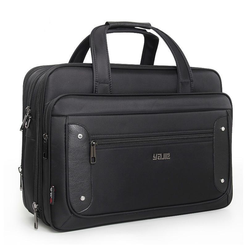 Top-Level Super Kapazität Plus Business Herren Aktentasche Frauen Handtaschen Laptoptaschen 16 17 19 Zoll Oxford Crossbody Reisetasche 210305