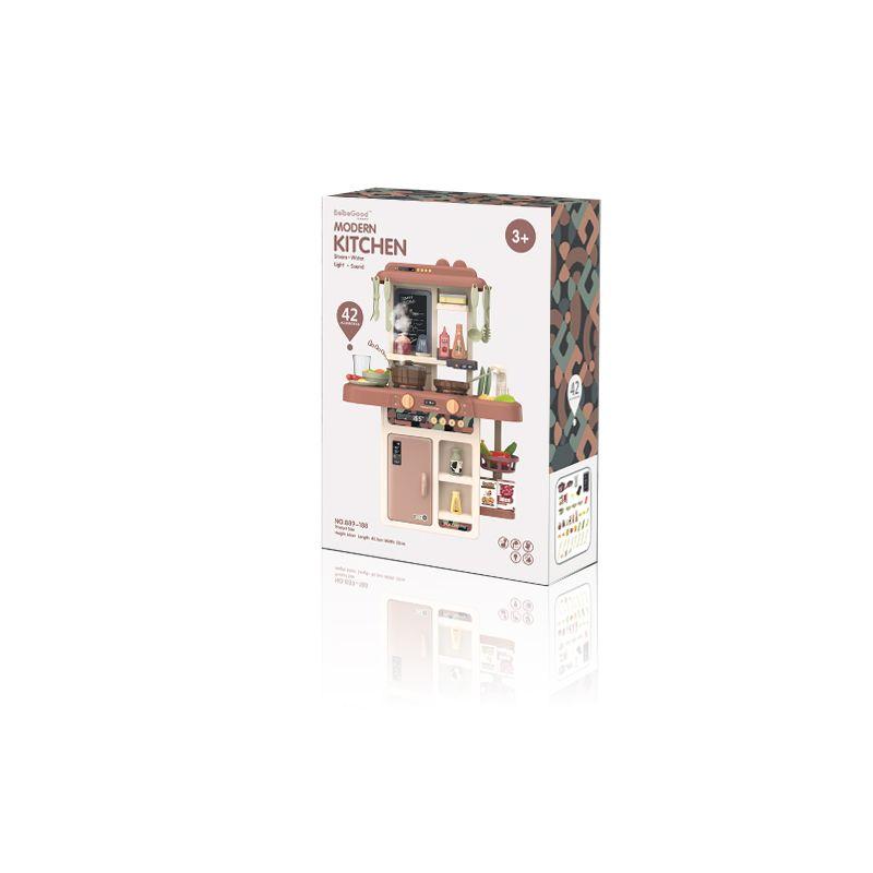 12 sets en una caja BeibeGood 889-188 Play House Toy Toy Children's Intelectual Desarrollo de la cocina Juguete para mejorar la exploración