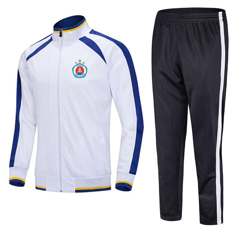 SK 슬로바 Brati 2021 자켓 축구 훈련 정장 무늬 팀 남성 스포츠 러닝 양복 훈련 슈트에 대 한 사용자 정의 할 수 있습니다