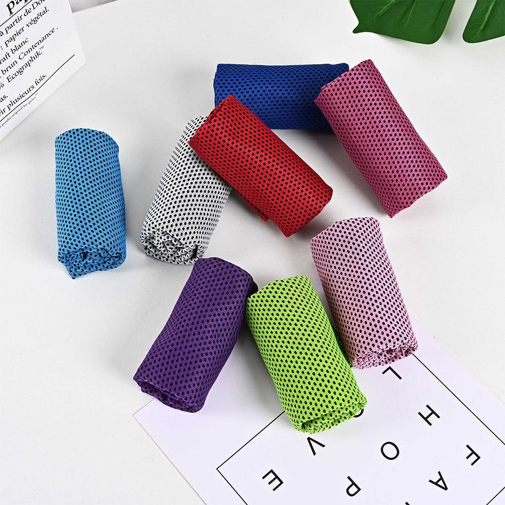 Gym club yoga sport serviette froide gant de lavage de football basketball refroidissement glace plage serviettes amoureux cadeau