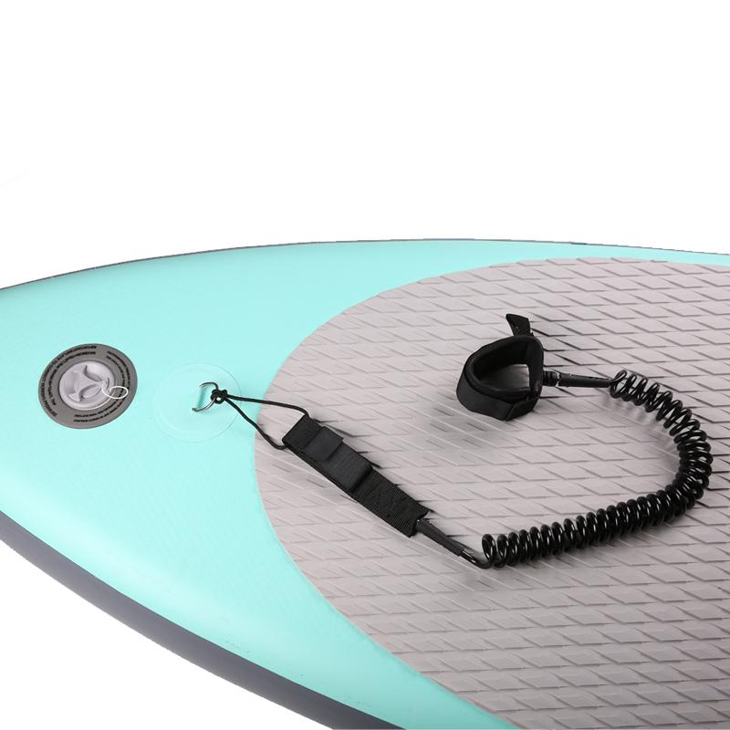 Surfboard Leash Surfing sup Rope Stand up paddle Board Coil Surf Accessories factory supply