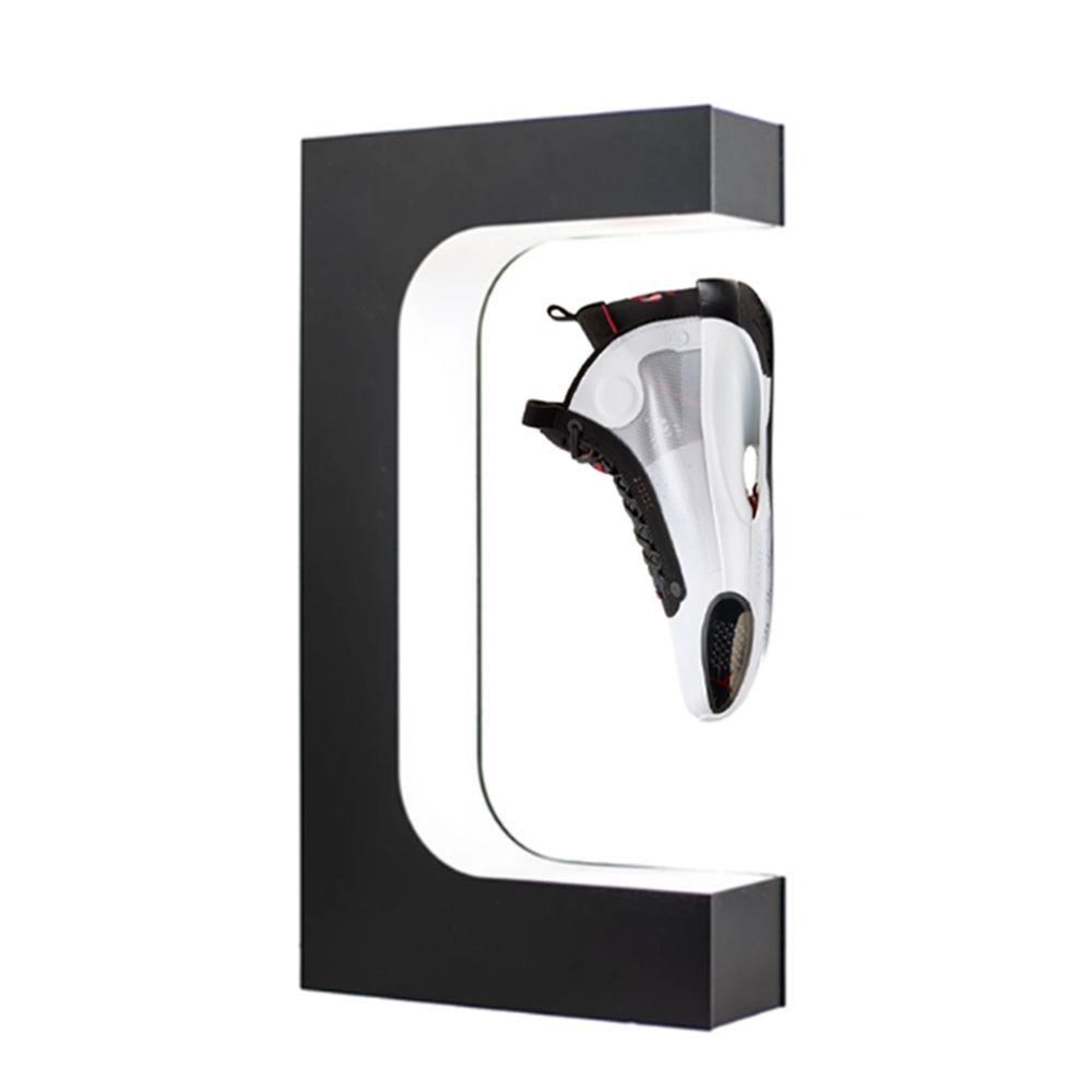 Soporte suspendido Soporte de soporte de 360 grados Muestra del producto Soporte de pantalla Flotación Varios zapatillas Calzado