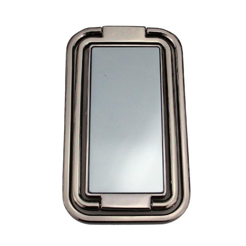 Cep Telefonu Bağları Tutucular Mobil Tutucu Katlanır Yüzük Toka Masaüstü Tablet Geri Çekilebilir Yapıştır Manyetik Araba Metal Kare Braketi