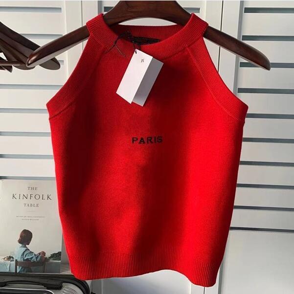 Moda Bayan Tasarımcı Tişörtleri Mektup Baskılı En Kolsuz kadın Rahat Tees Hip Hop Streetwear T-Shirt Giyim ST202102