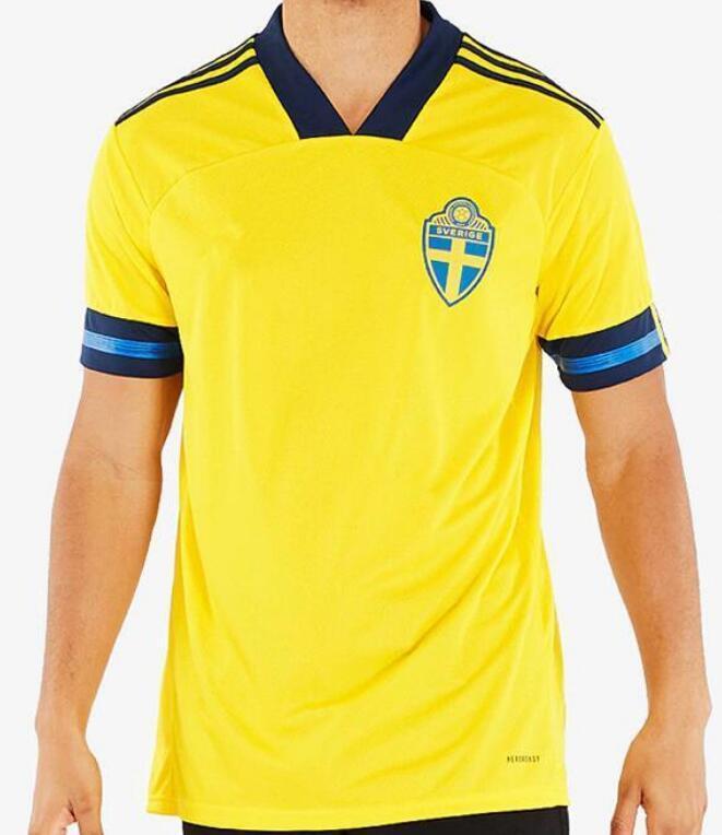 2020 2021 Швеция Футбол Джерси Дом от 20 21 Sverige Forsberg Lindelof Берг Ибрагимович Футбол Футбол Футбол