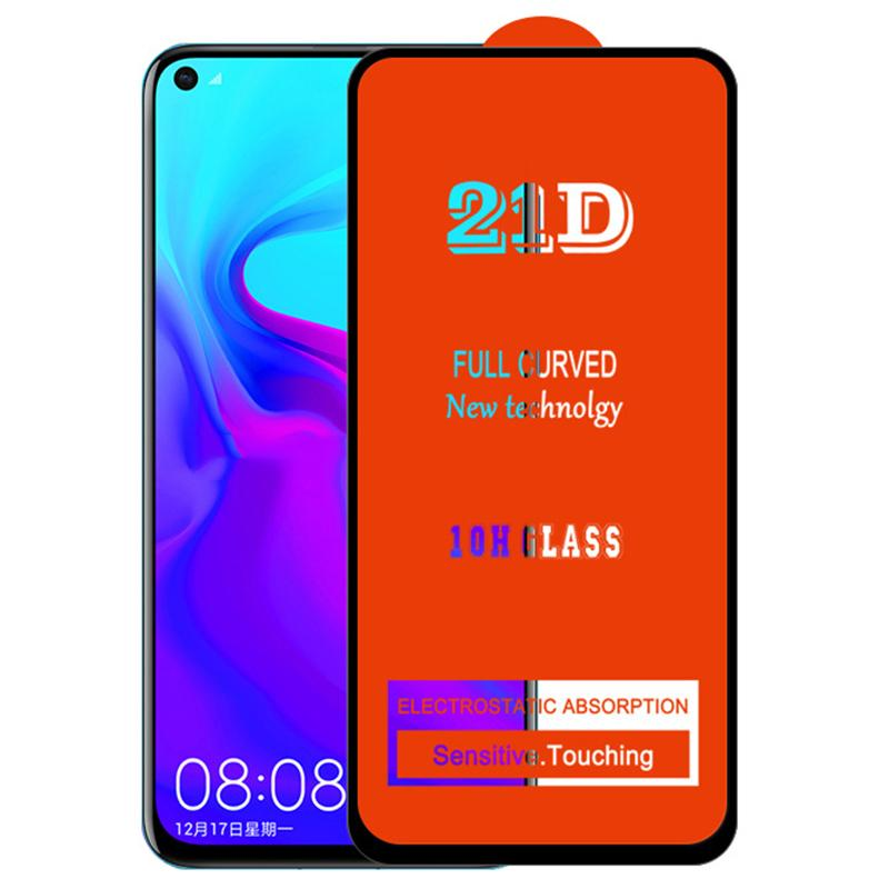 21D Tam Tutkal Ekran Koruyucu Temperli Cam Koruyucu Geçerli Kavisli Kapsama Guard Film Kapak Kalkanı Xiaomi Mi 11 Lite için 11x Pro 11i 10i 10 10 T F3 GT A4 M4 X3