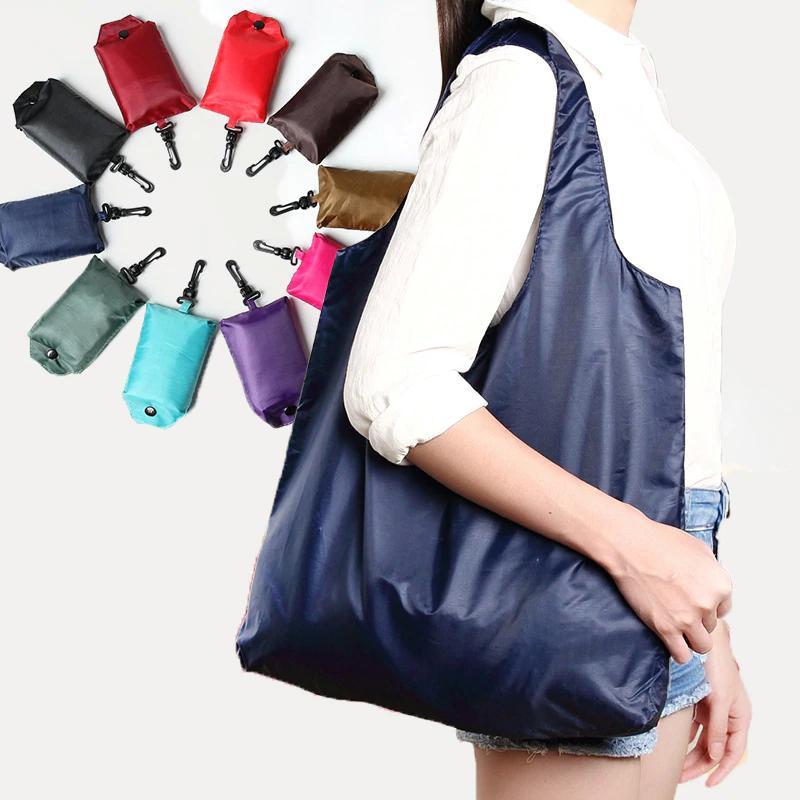 Einkaufen Taschen Waschbare faltbare Einkaufen Einkaufstaschen Robuste leichte Öko-freundliche Umhängetasche