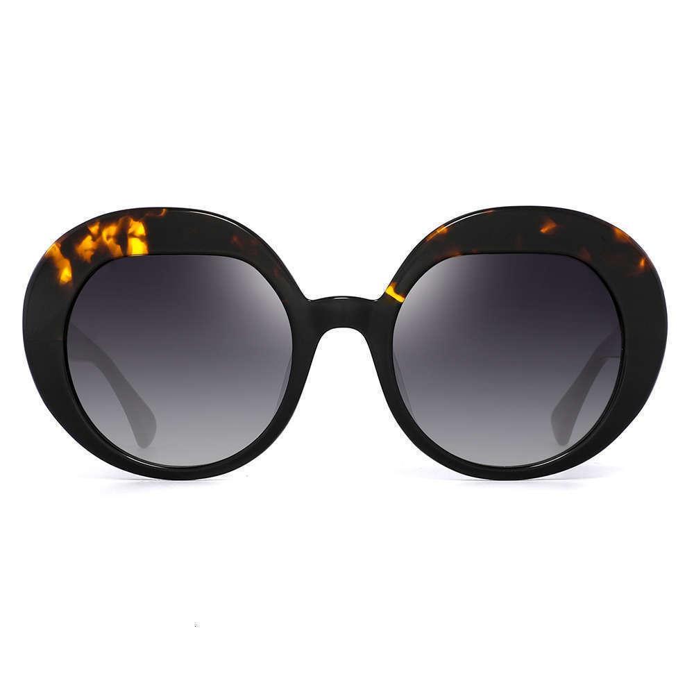 Diseño de mujeres nuevas gafas de sol redondas retro 2020 21s