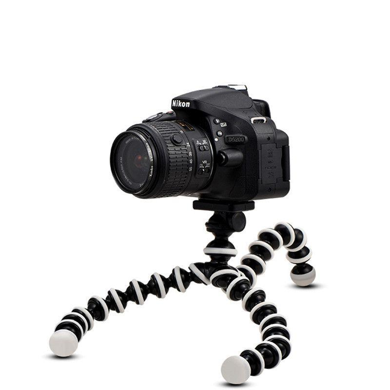 Small Mini Octopus Tripod Stand for Hero 7 6 5 Action Sports Camera Mount for XS XR Smartphone
