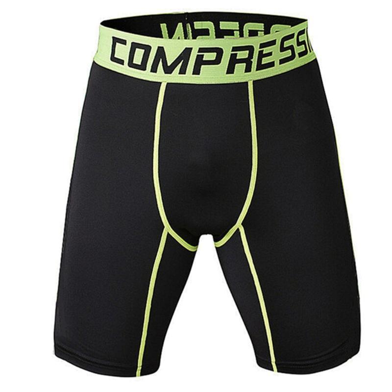 Herren Shorts Outdoor-Sportgymnastik-Kompressionsabnutzung unter Basisschicht-Hosen Athletische Strumpfhose 3farben