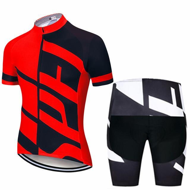 Bisiklet Jersey 2021 Erkek Bisiklet Seti Yarış Bisiklet Giyim Suit Nefes Dağ Pro Bisiklet Giysileri Sportwears Ropa Ciclismo