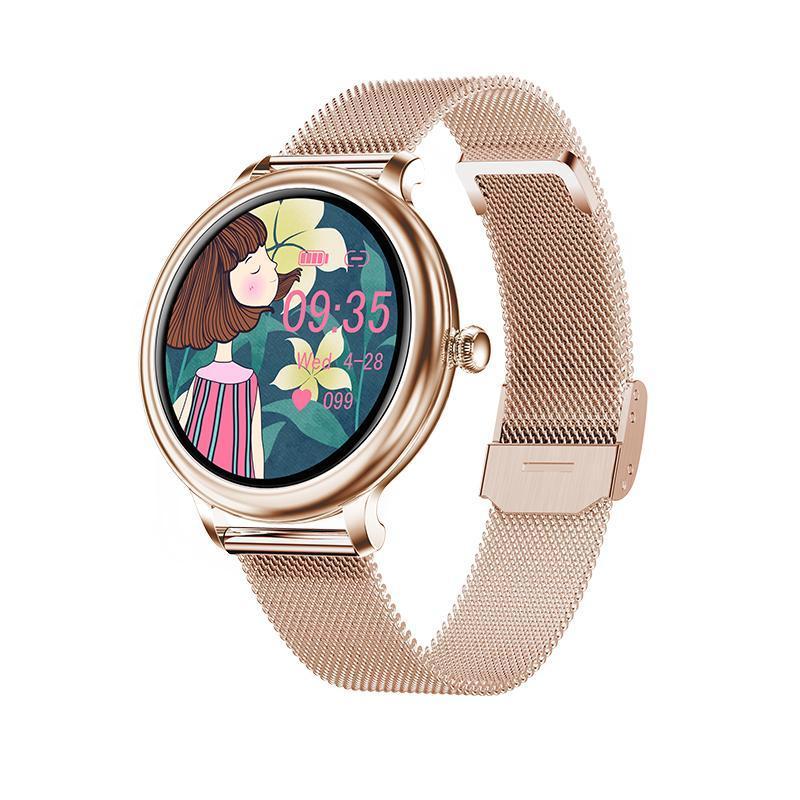 WillGalllop NY13 Smart Watch Presión arterial Monitor fisiológico IP68 Impermeable 2.5D Pantalla LCD Tracker Fitness