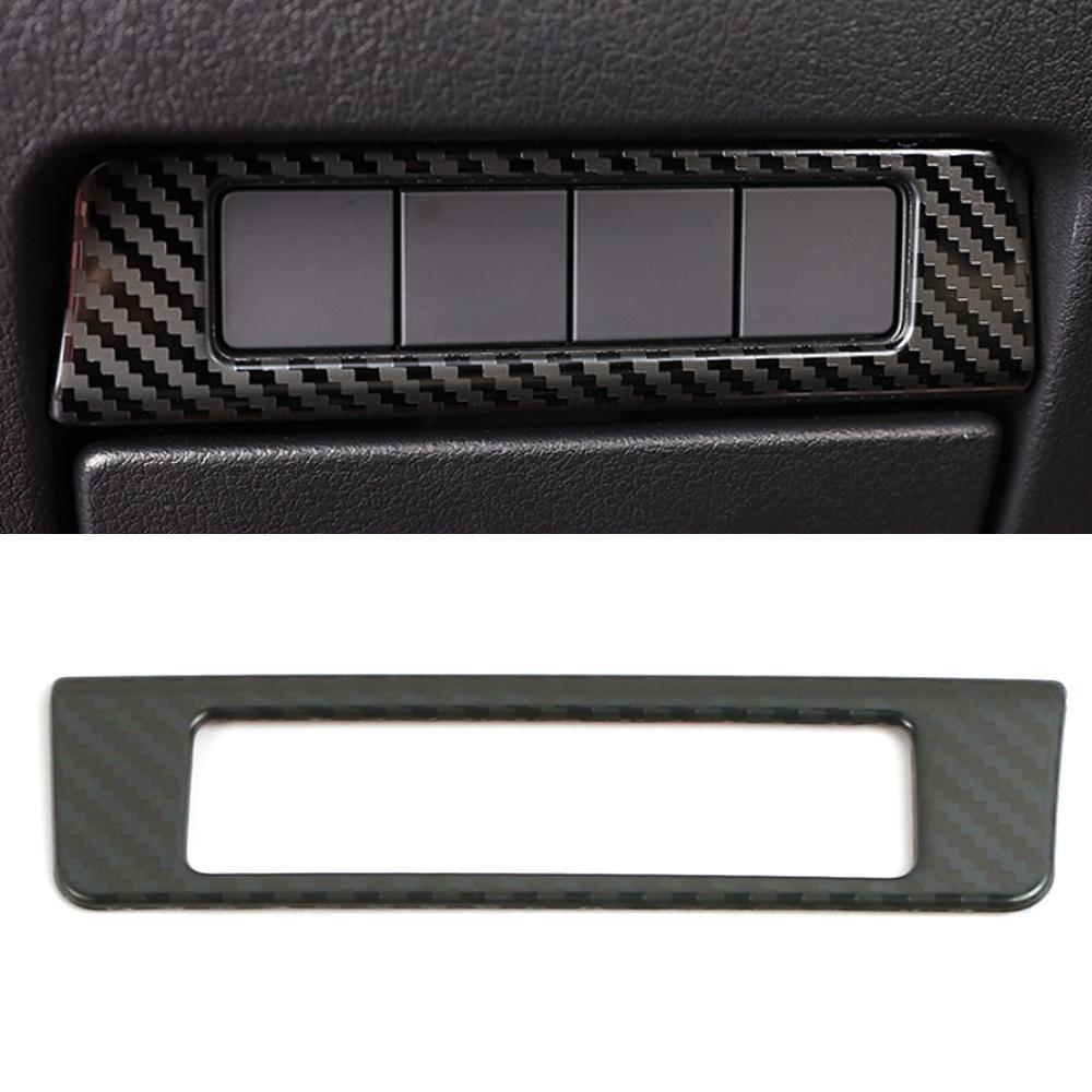 Pour Mazda CX-30 Auto Accessoires Auto Headlight Panneau de commande Bouton Bouton Cadre Cadre Cadre Cadre Décoration intérieure