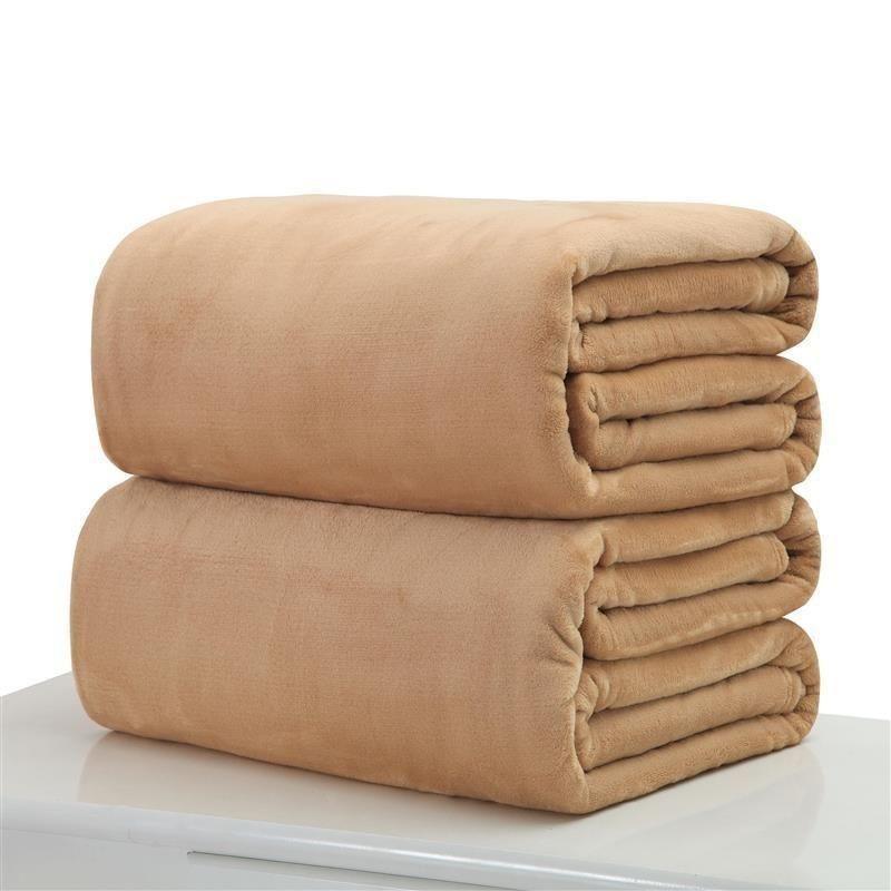Теплая фланелевая флисовые одеяла мягкие твердые одеяла сплошные покрывающие плюшевые зимние летние бросить одеяло для кровати диван 44 v2