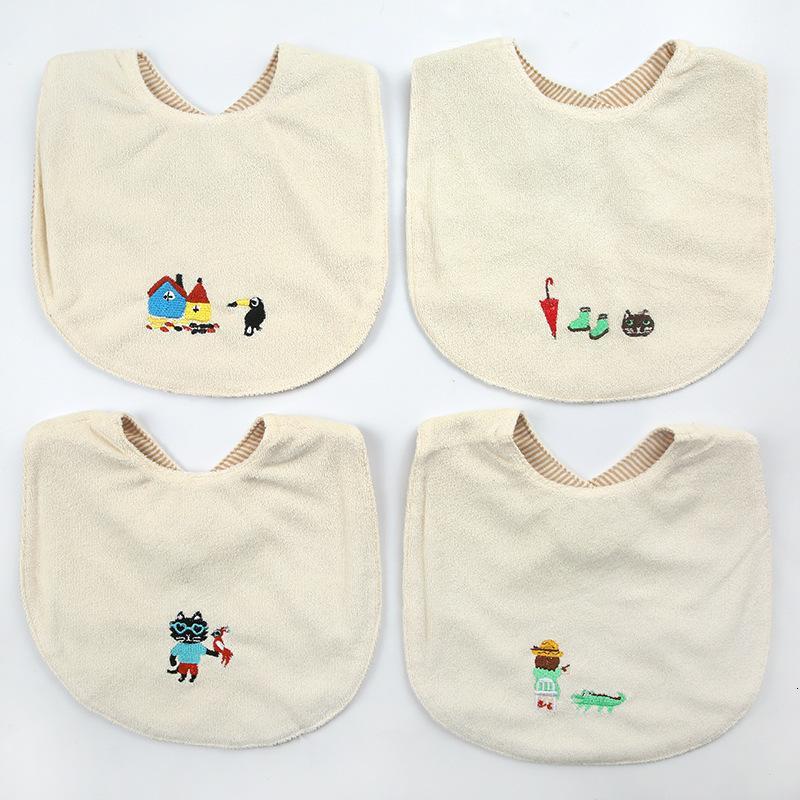 Niedliche Handtuch Wasserdichte Baumwolle Baby Kreative Kinder Cartoon Speichel Lätzchen