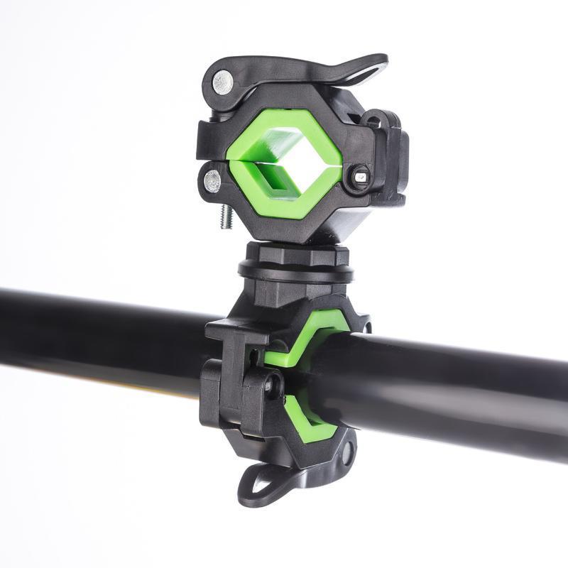 Lumières de vélo 1pcs 360 ° Rotation Support de montage Pince Cyclisme Vélo Universal Vélo Light Light Torch