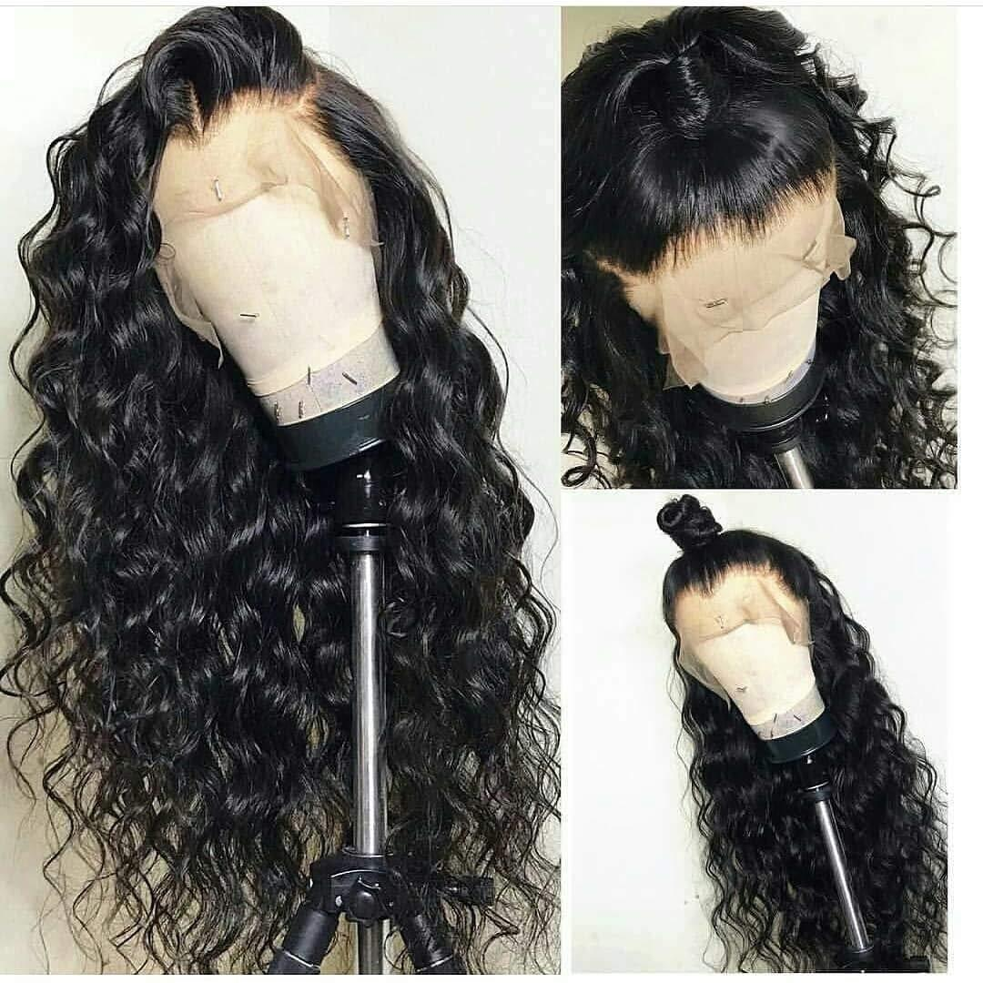 Loose Deep Wave Human Hair Wigs 4x4 5x5 13x4 Lace Wig For Black Women Pre Plucked