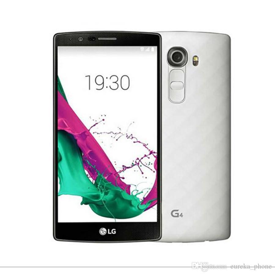 Оригинальный LG G4 H815 H818 Разблокированные телефоны 5,5 дюймов Hexa Core 3GB RAM 32GB ROM Восстановленный мобильный телефон