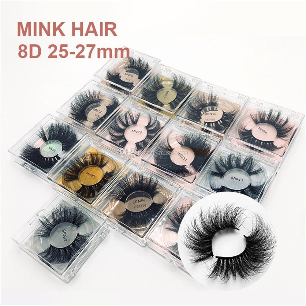 25mm 29mm 8d cílios de visita macio longo multicamada super espesso enranhura mink cílios 5d 3d mink cílios peludos cílios peludos cílios extensão
