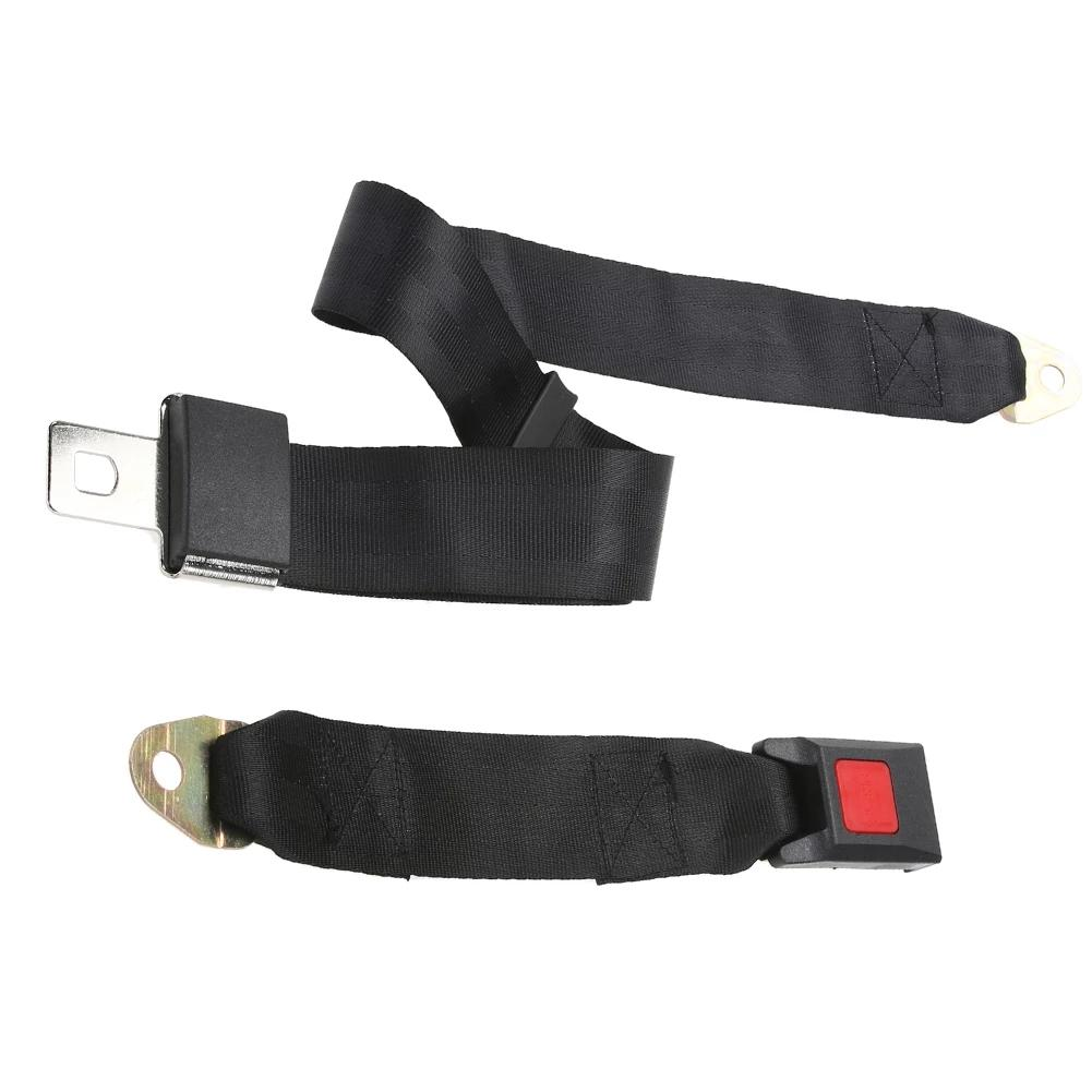 Coffre-fort de voiture universelle Coffre-fort à la ceinture de sécurité à deux points de sécurité ceinture de sécurité à deux celles de sécurité durables Boucle de sécurité