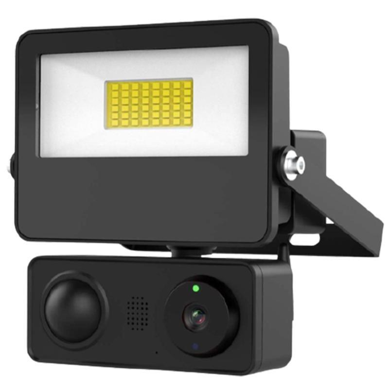 Kameralar SDETER 1080 P WIFI IP Kamera 2MP Duvar Lambası Güvenlik Açık Iki Yönlü Ses Projektör Renk Gece Görüş Webcam Aleax için