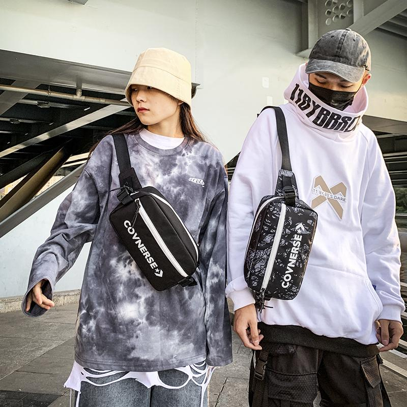 Men waist bag Fanny Pack Casual Chest bag Simple Outdoor Sports Style Waist pack Bum Belt Bags Leg Pouch Unisex C0305