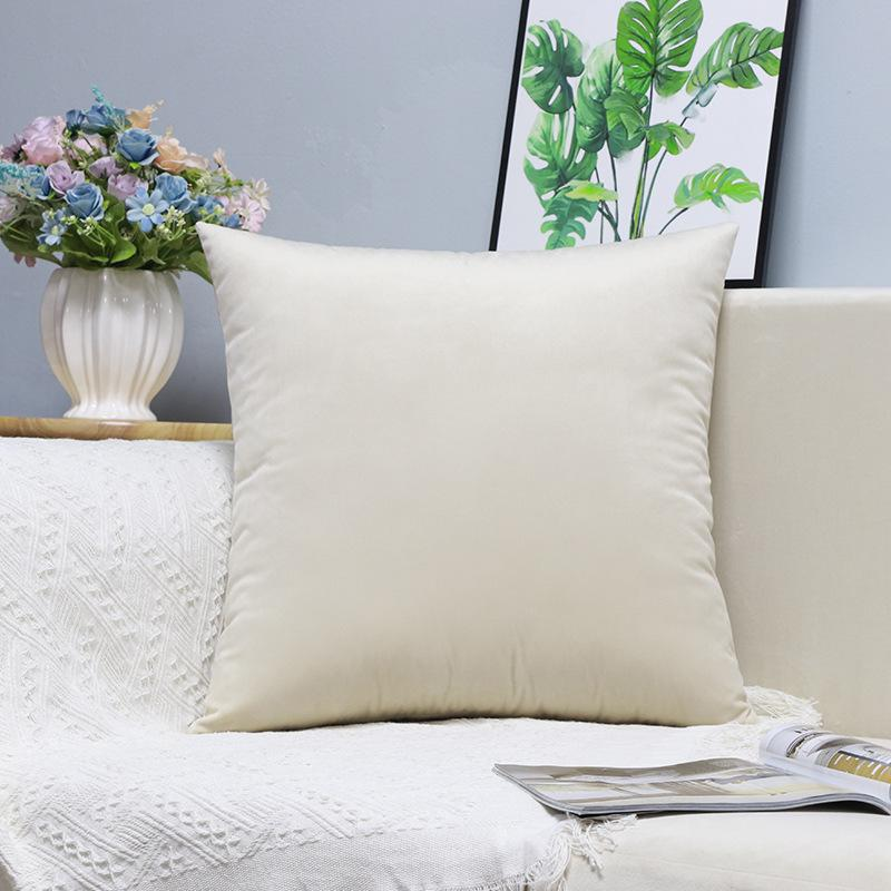 X189 Küçük Taze Kucaklama Yastık Dikey Şerit Süet Yastık Örtüsü Ev Eşyaları Hug Yastık Kılıfı Katı Renk Yastık ASDF Kapakları