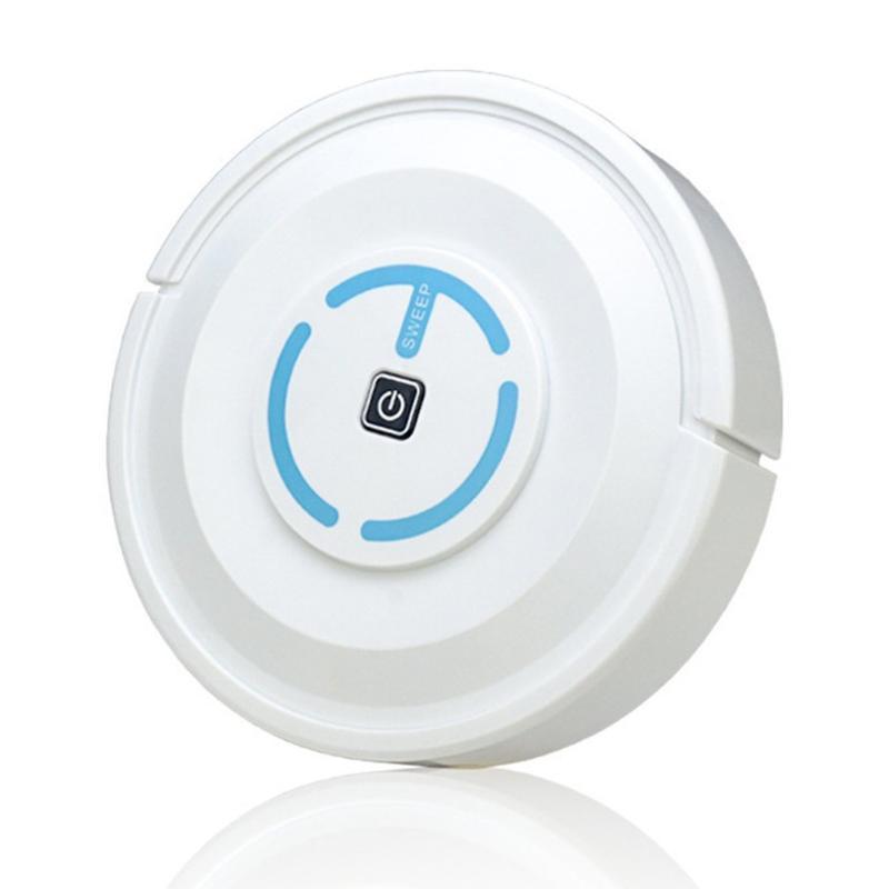 Robot de barrido inteligente para el hogar limpiador de pelo recargable máquina de limpieza automática de la dirección automática