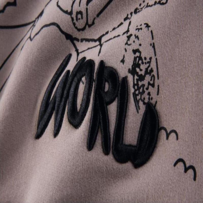 Moda-Travis Anne Astroworld Bak Kapüşonlu Yüksek Tasarımcı Baskılı Scott Hoodies Hop Kalça Kazak Tişörtü Erkek Sinek I Sokağı Casual Jnqe