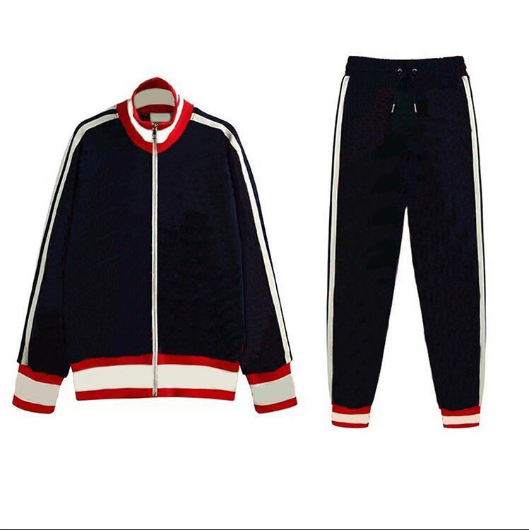 21FW Erkek Tasarımcı Eşofman Moda Mektuplar Erkekler Kadınlar Için Baskı Sportsuits Streetwear Sonbahar Kış Jogger Pantolon 3 Renk İsteğe Bağlı Suits