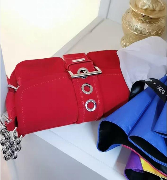 Bolsas de marca para mujeres 2021 Velvet de alta capacidad Female Bolso Diseñador Cadena Hombro Crossbody Bolsa Moda Mujeres Messenger Bag C0326