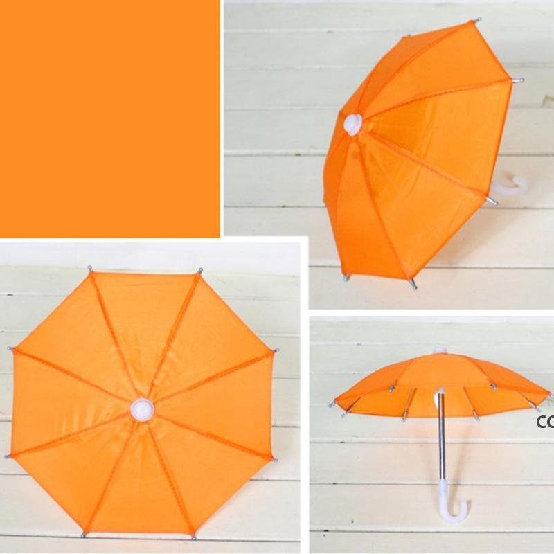Doll Toy 8 K Mini Umbrella Candy Colors Dolls Cosplay Umbrellas Toys Accessories Decoration Home Decor Ornaments Rain Gear DHA8790