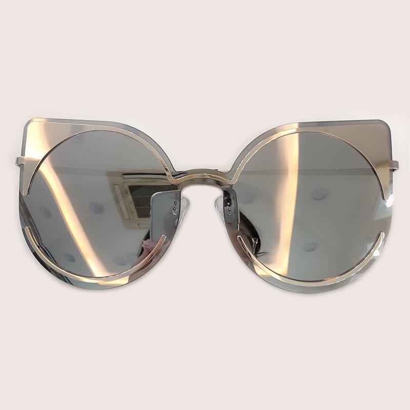 Óculos High Cat Sunglasses LFL818 Luxury-2021 Oversize Designer Retro Sun Mulheres Oculos Qualidade Designer Feminino Senhoras Shades Eye Qltqn