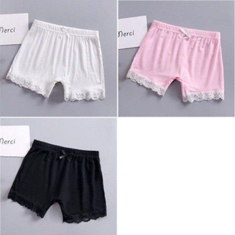Niños Pantalones cortos de algodón modal 2020 Moda de verano Leggings cortos para niñas Pantalones de seguridad Bebé medias cortas 240 U2