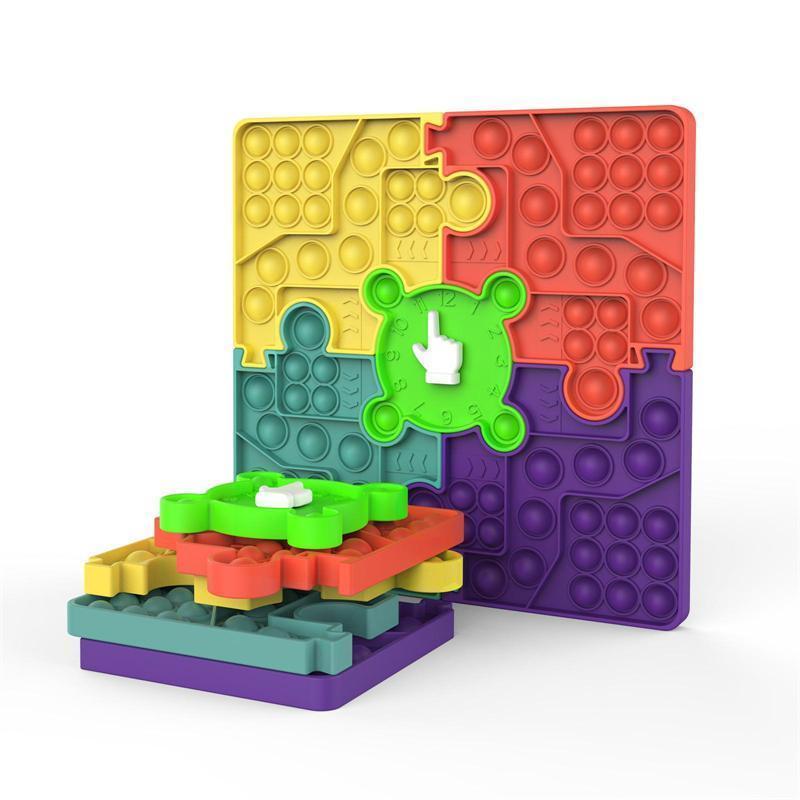 Fidget Toys Splicing Combinado Ponteiro Rotativo Ponteiro Prevalente Família Jogo Sensory Autism Ansiety Stress Reliever em Presentes de Natal