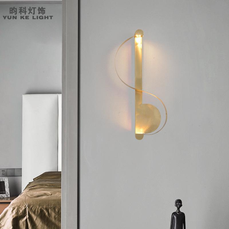 Настенная лампа лофт Crystal спальня легкие прикроватные коридоры столовая Luminaria de Parede